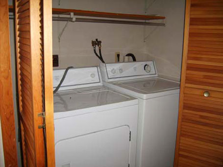 Orchard Homes Washer and Dryer