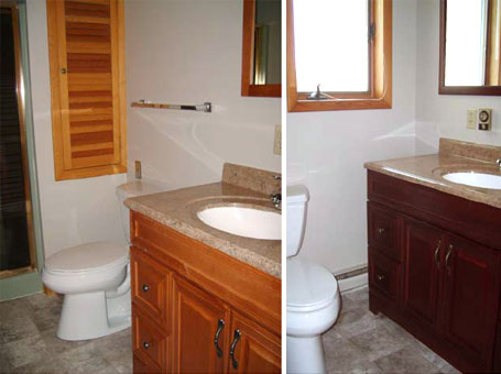 Orchard Homes Bathrooms