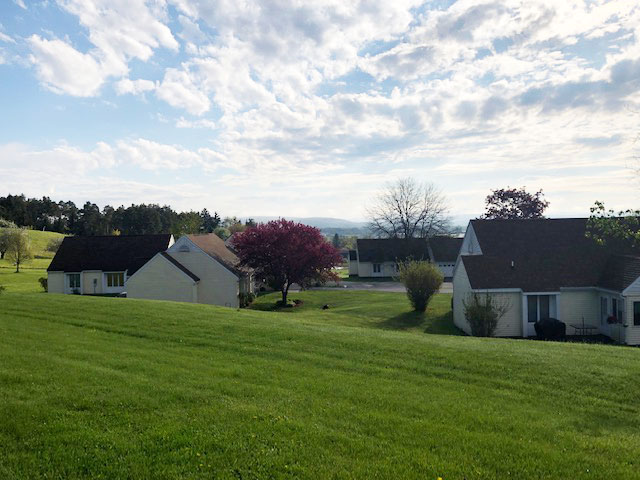 View of Orchard Homes - Independent Living at Bethany Village